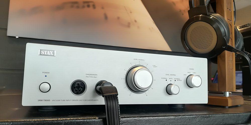 In Ascolto il nuovo amplificatore Stax SRM- T8000