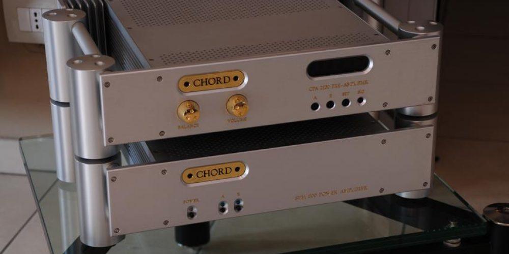 Chord CPA 2200 e Chord SPM 600
